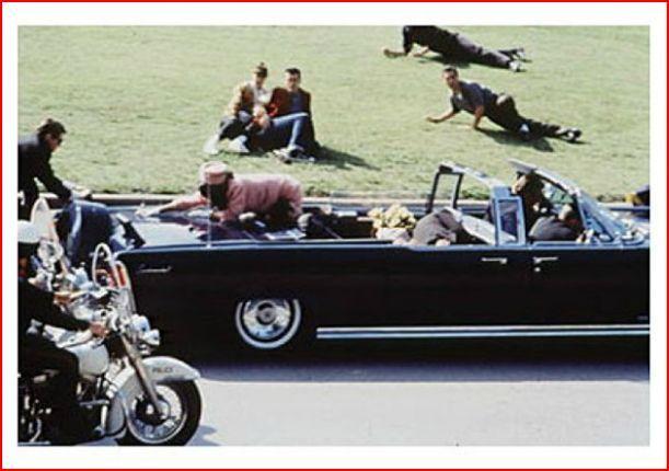 Assassination of US president John F Kennedy